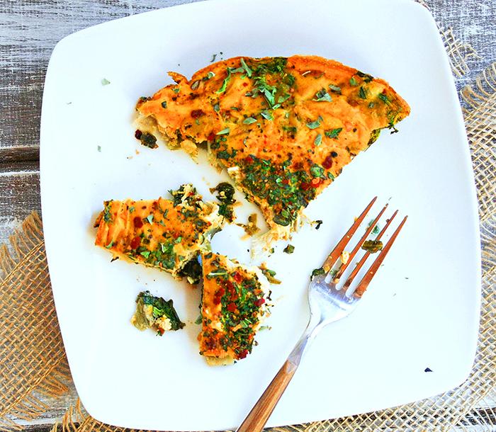 Pumpkin Kale and Turkey Fritatta