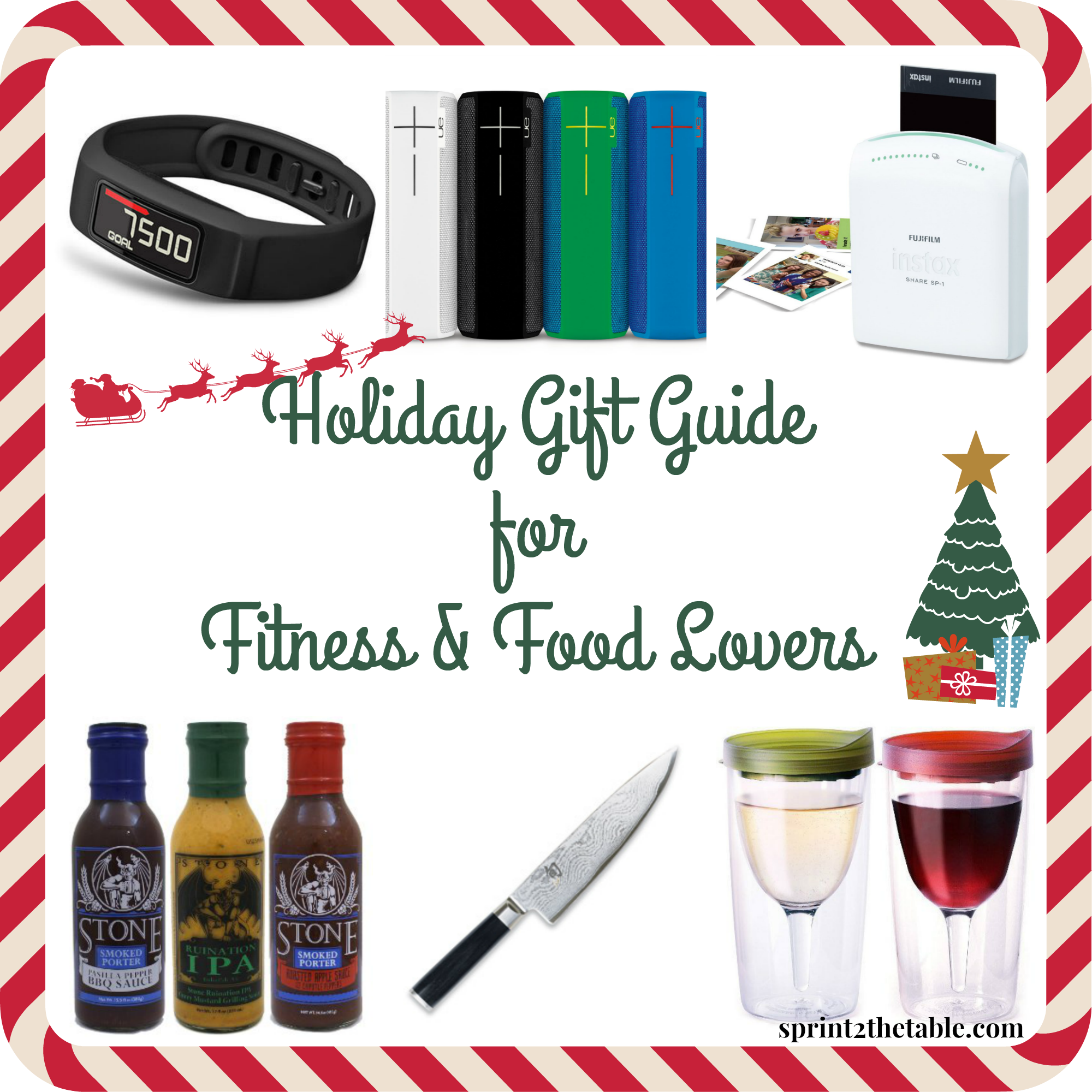 Holiday Gift Guide for Fitness and Food Lovers