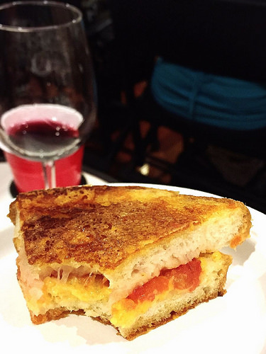Toasted Cheese Grilled Cheese