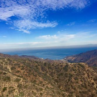 Garden to Sky Summit view on Catalina Island