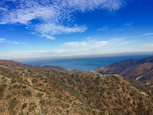 Garden to Sky Summit view on Catalina Island
