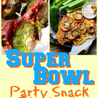 Super Bowl Party Snack Playbook