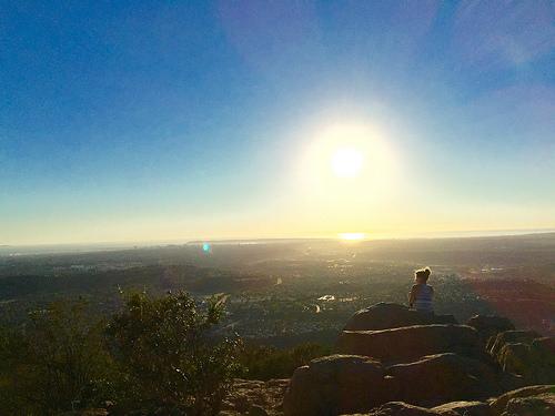 Cowles Mountain summit