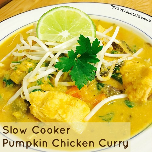 Slow Cooker Pumpkin Chicken Curry