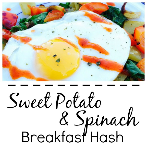 Sweet Potato & Spinach Breakfast Hash [Recipe] | Sprint 2 the Table