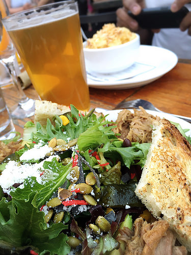 The Brew Project - Southwest Salad with BBQ Pork