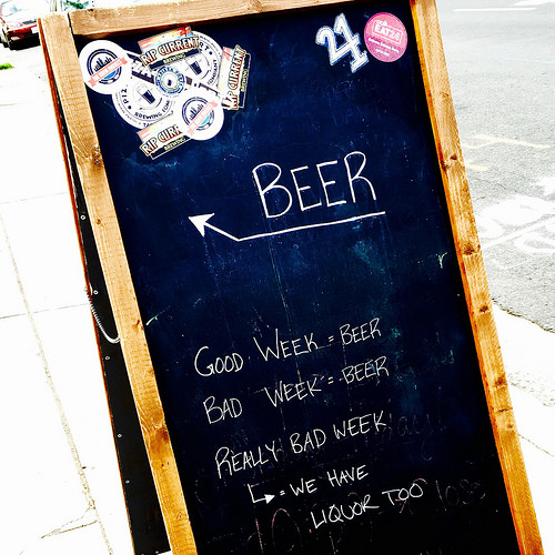 Bad week? We have beer!
