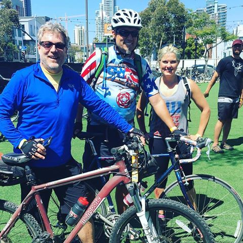 Bikes and Beers 22 mile ride in San Deigo