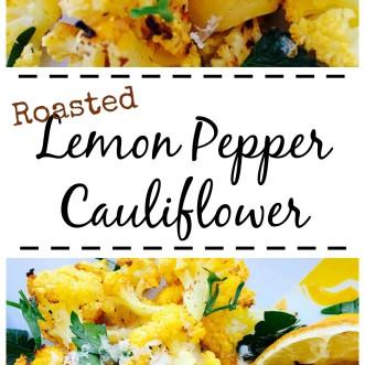 Did you know yellow cauliflower has more beta carotene than the regular white veggie? Try it in this Lemon Pepper Roasted Cauliflower dish!
