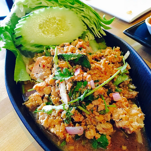 Koon Thai Kitchen chicken larb