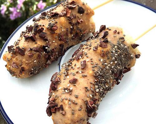 Peanut Butter Banana Pops [Recipe]