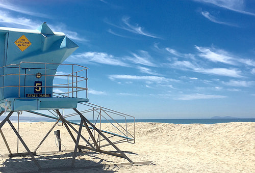Silver Strand Beach RV park in San Diego, CA