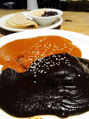 Mole at Cantina Mayahual in San Diego