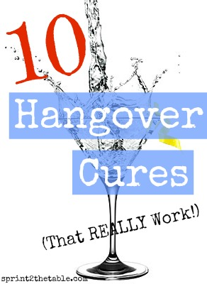 10 Hangover Cures That REALLY Work!