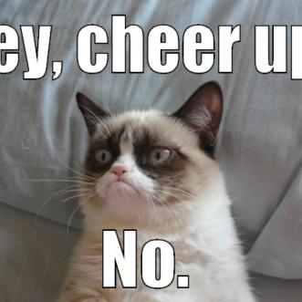 Hey cheer up!