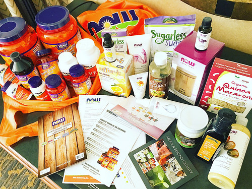 NOW Foods Giveaway