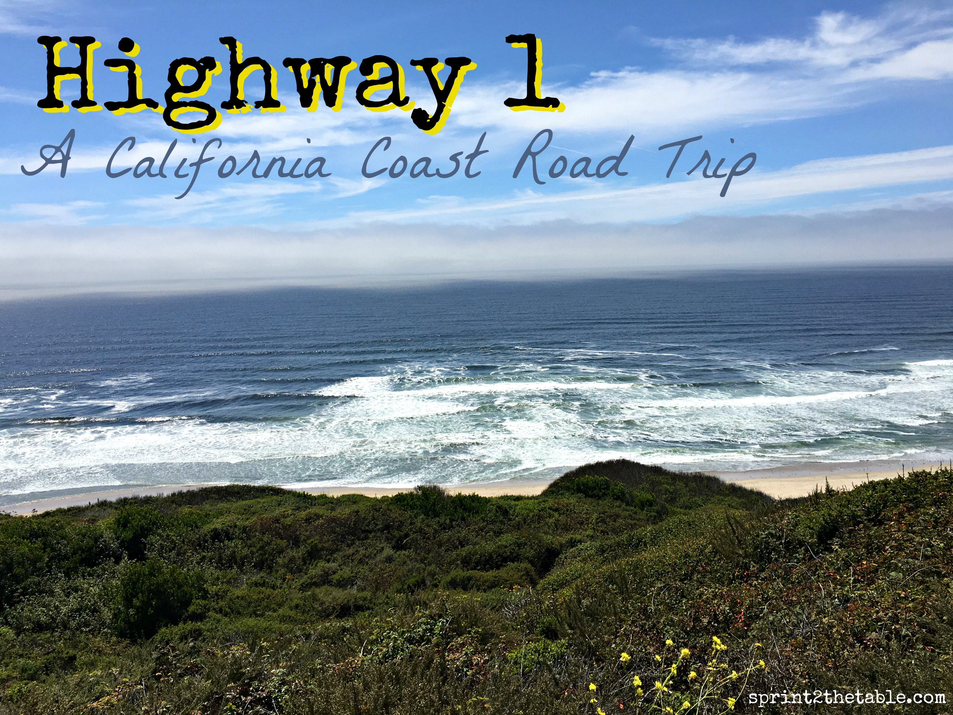 Highway 1 A California Coast Road Trip