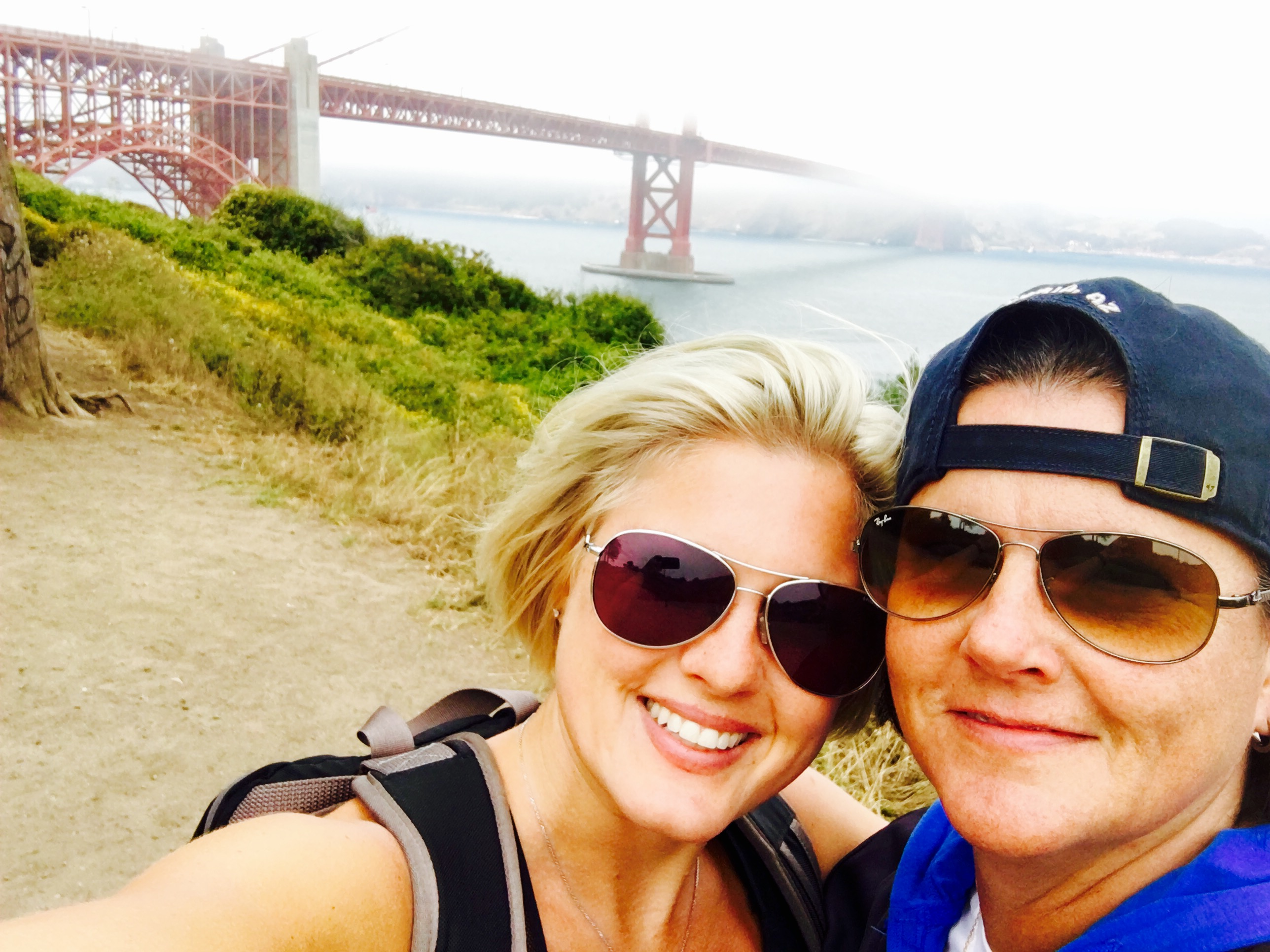 Hiking the Golden Gate Bridge