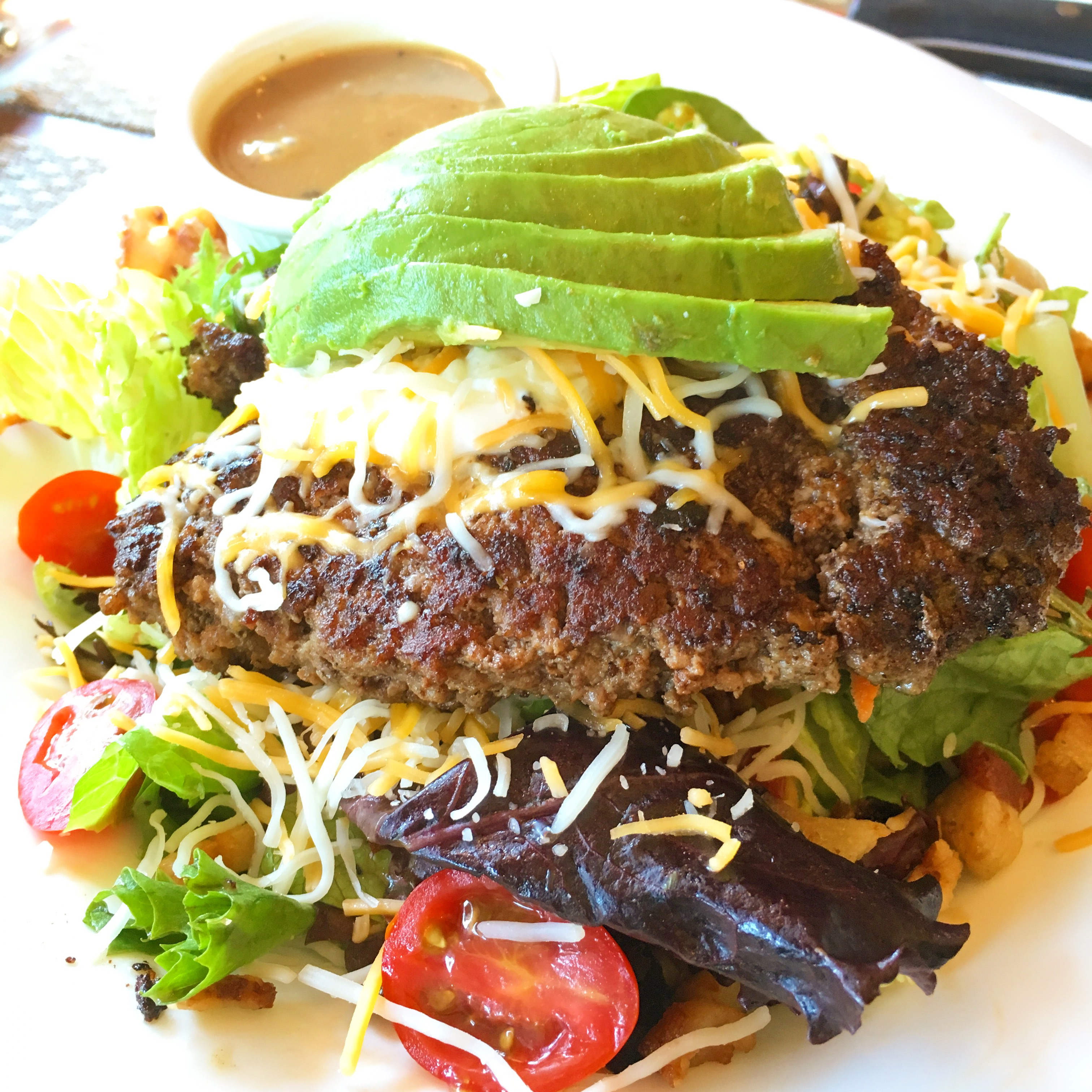 Napa Valley Burger salad