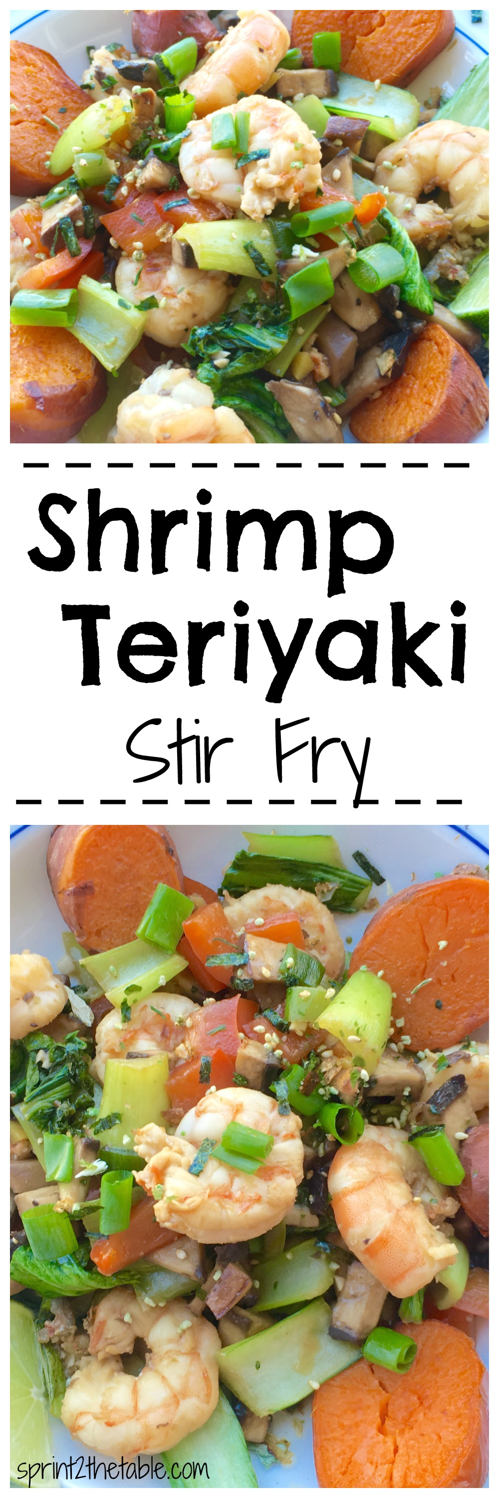 This yummy teriyaki stir fry recipe means you'll never need take out again. The marinade for the shrimp is just 3 ingredients!