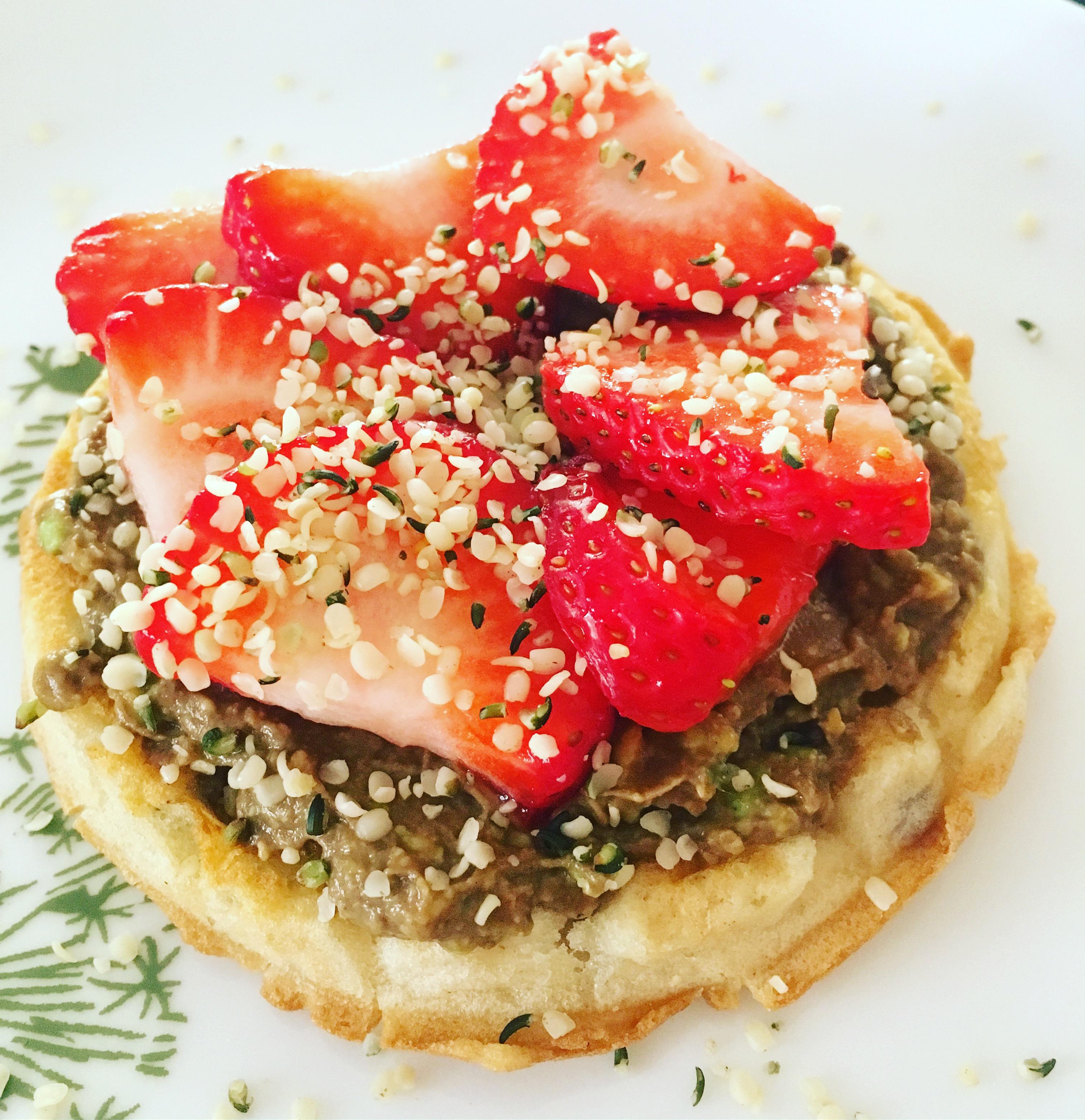 Choco-cado Waffle