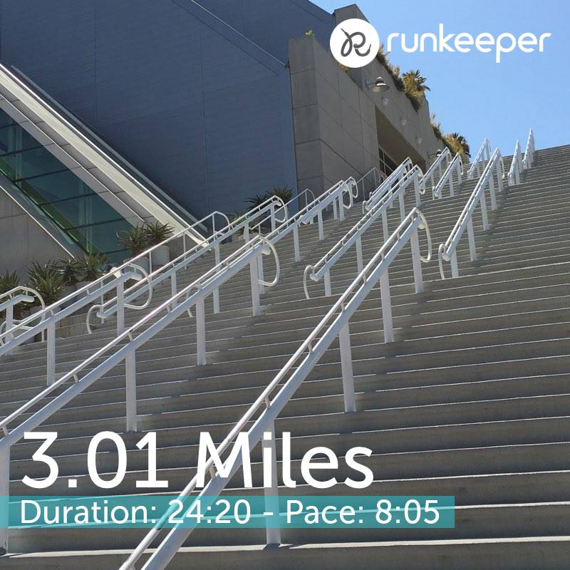 San Diego Convention Center Stairs