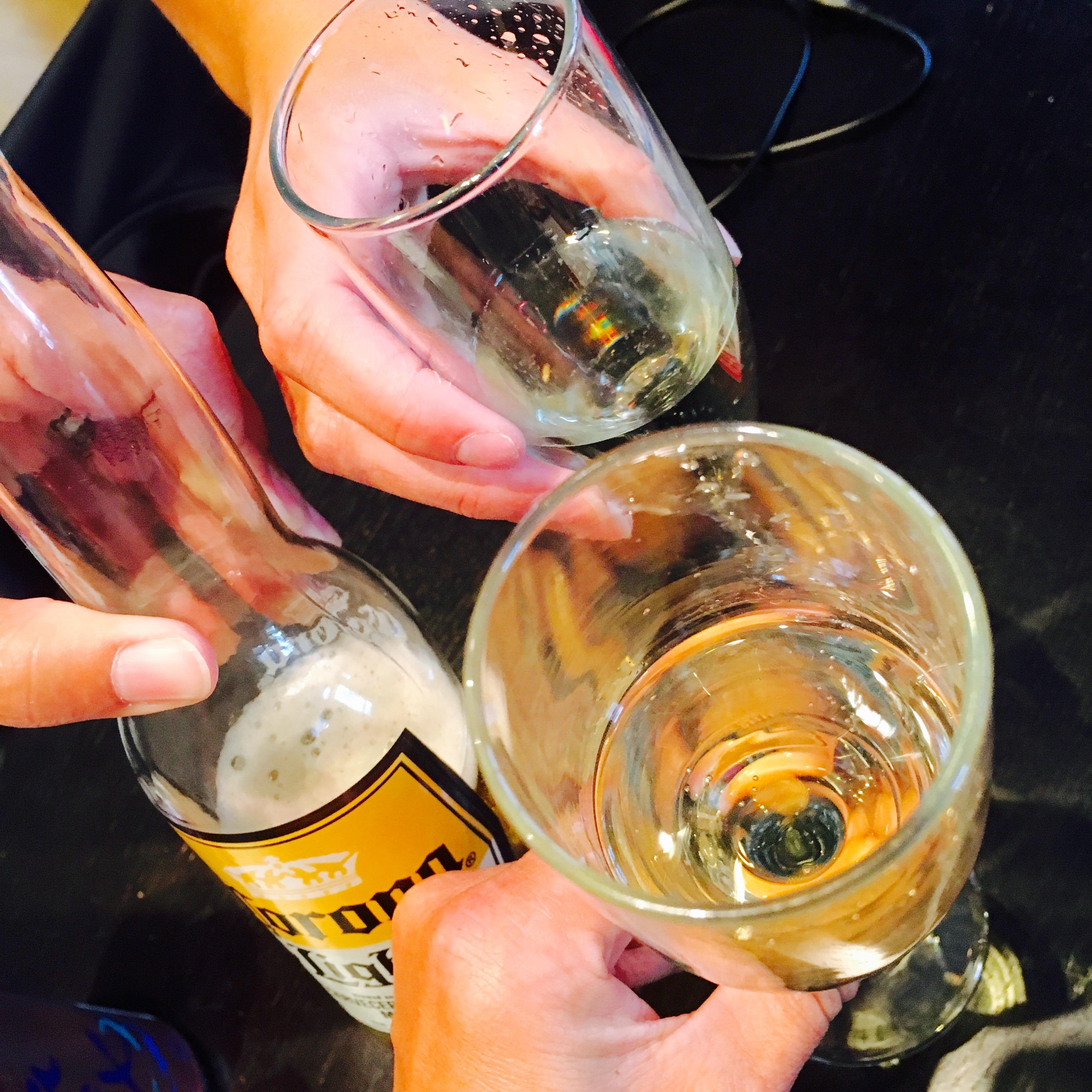 Sisters toast