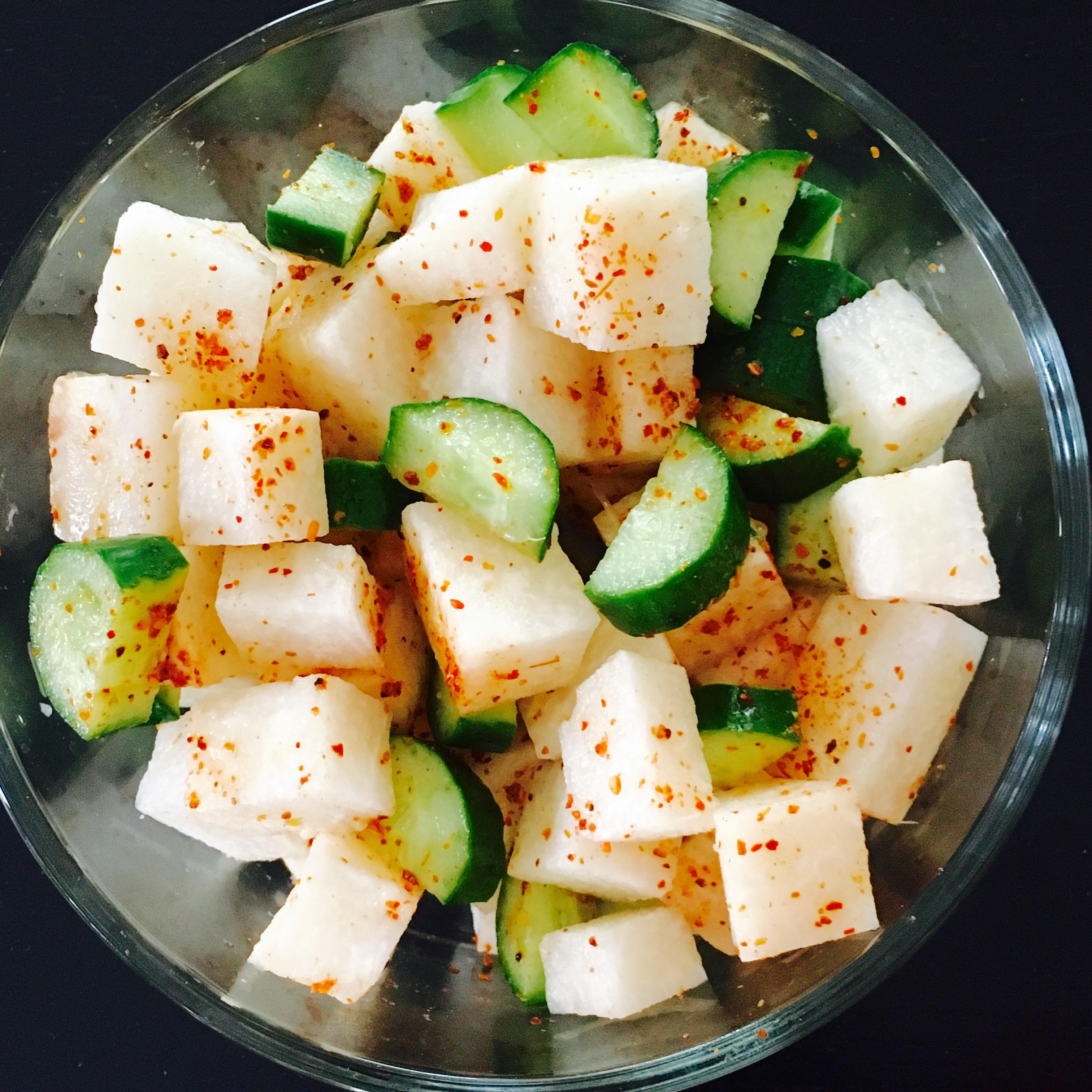Tajin Jicama Salad