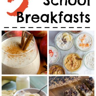 Try these 5 make ahead back-to-school breakfasts for busy mormings!