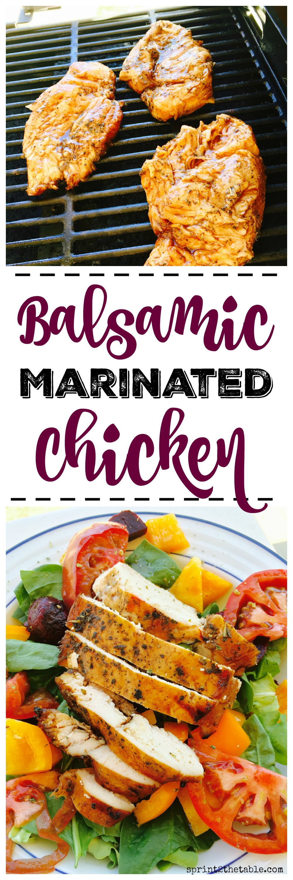 This Balsamic Marinated Chicken recipe is incredibly easy to make and packs a ton of flavor your whole family will love!
