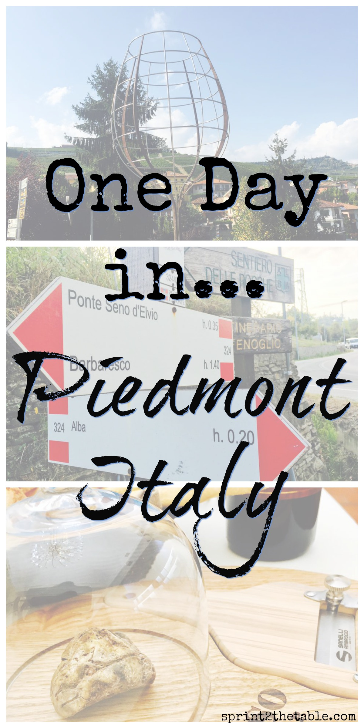 One Day in Piedmont Italy