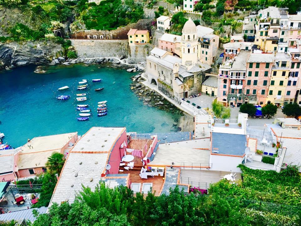 View from Castello Doria in Vernazza