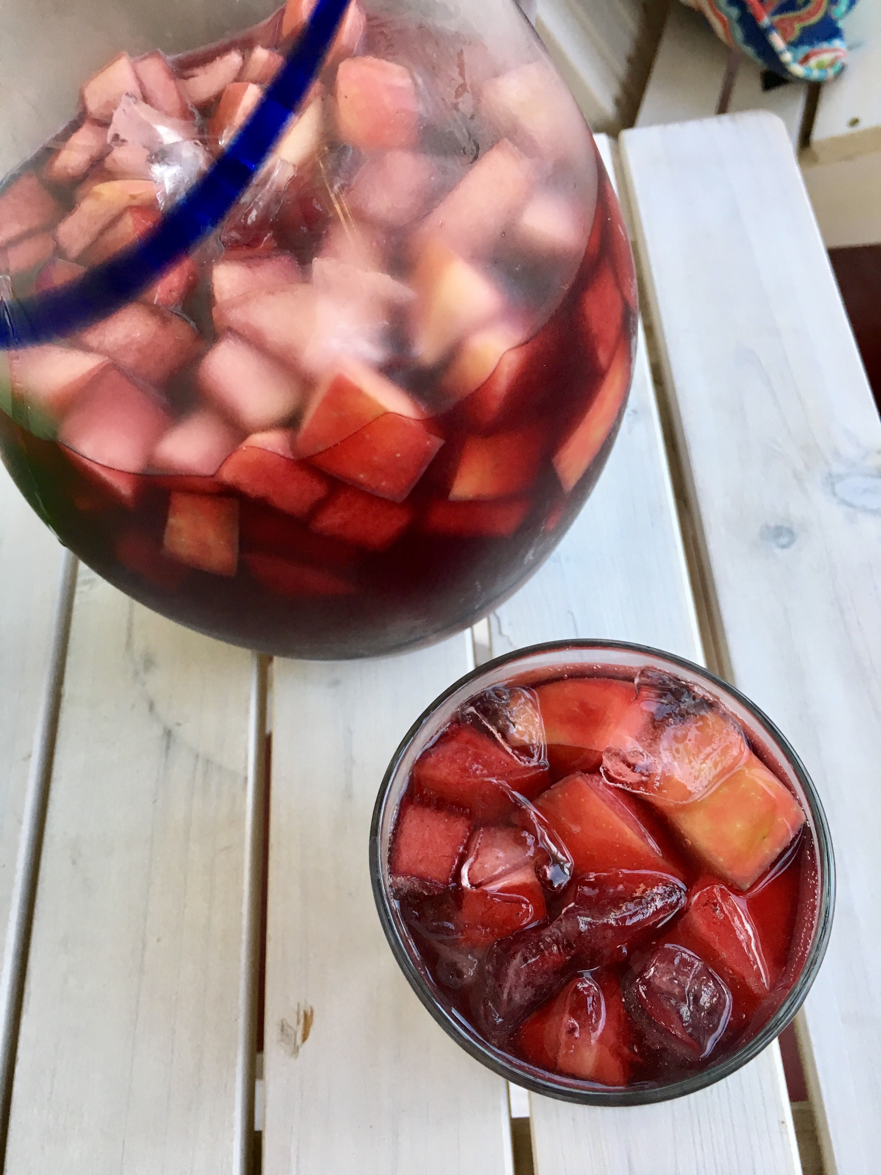 This super-easy Apple Cider Sangria is a perfect addition to any fall gathering!