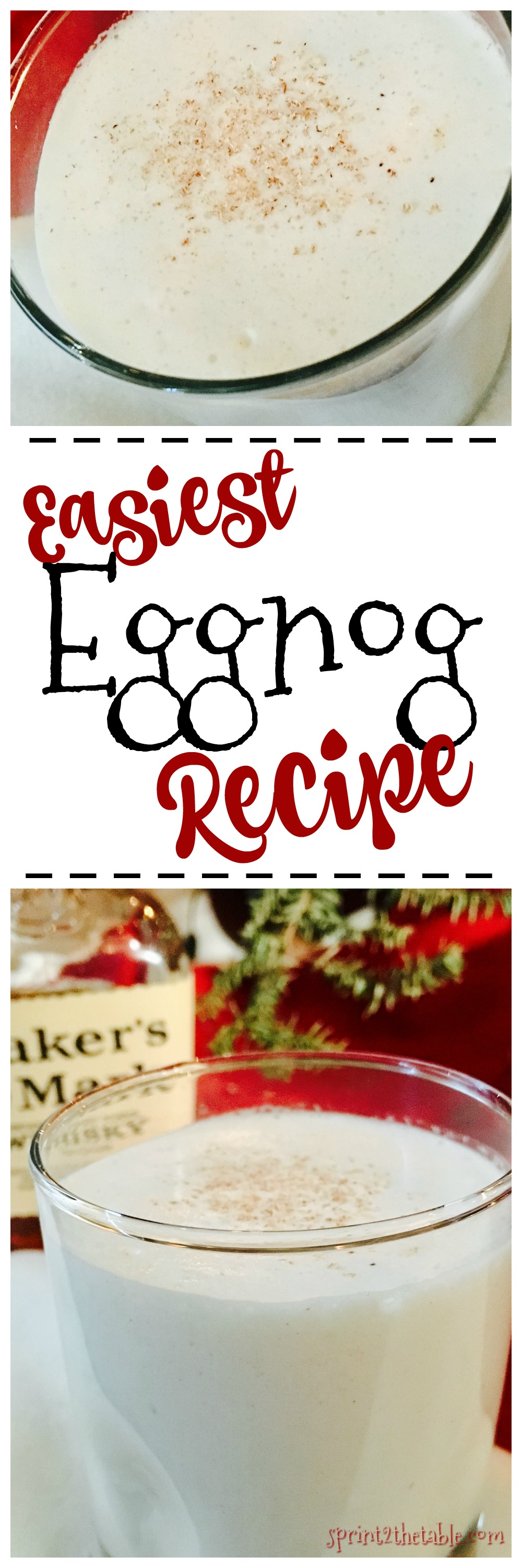 Easiest Eggnog Recipe