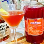 Smoked Blood Orange Manhattan