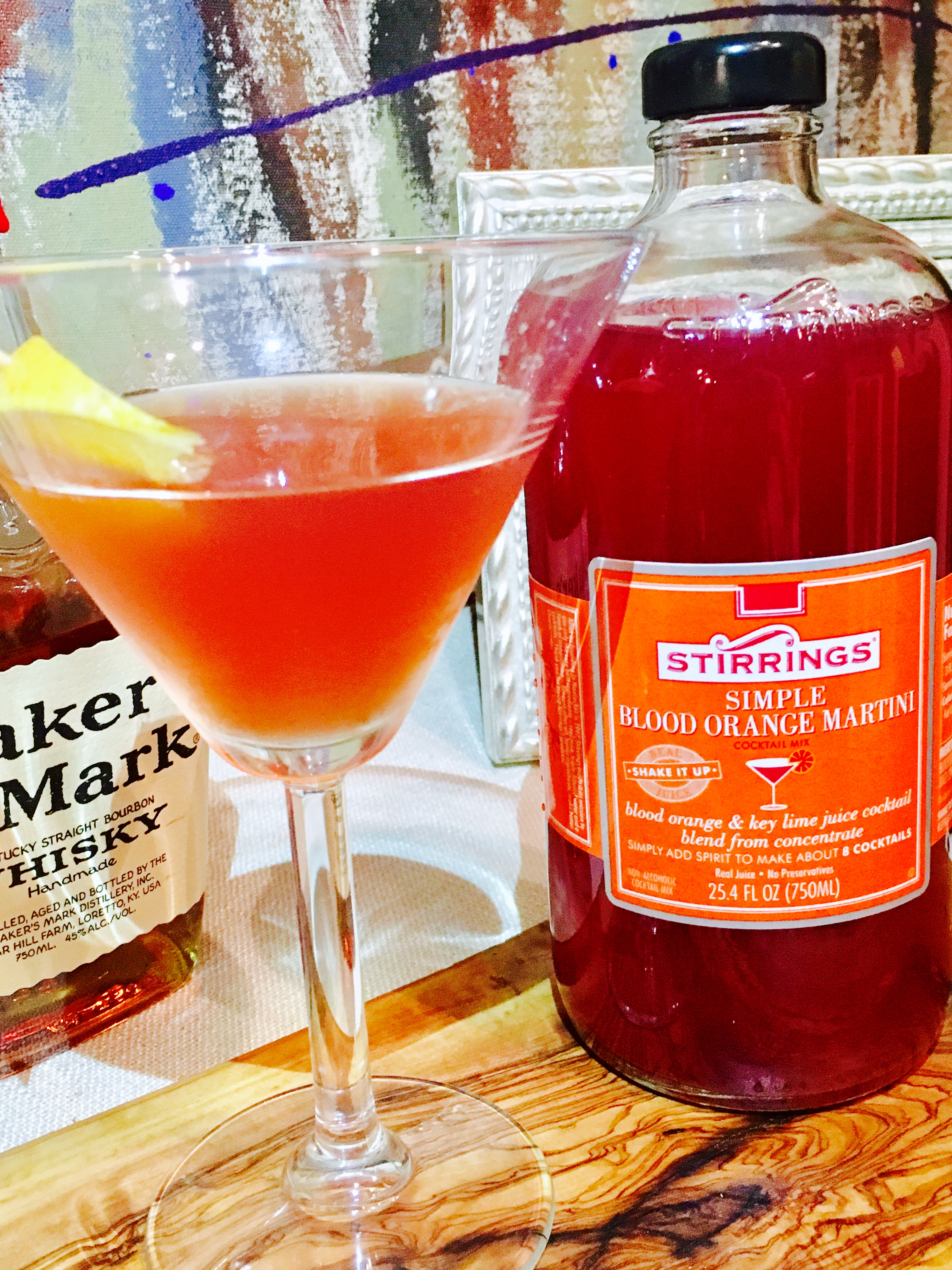This Smoked Blood Orange Manhattan is the perfect balance of boozy and fruit!
