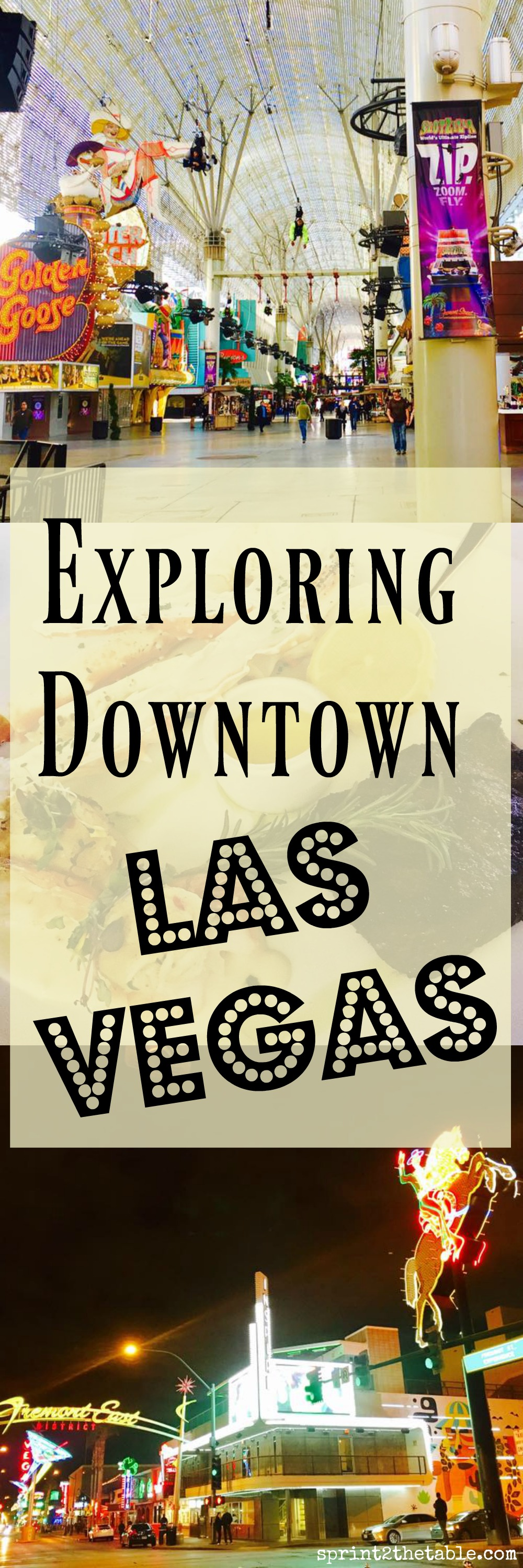 Exploring Downtown Las Vegas - don't miss this classic part of Vegas!