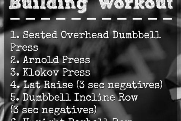 Shoulder Building Workout for Women