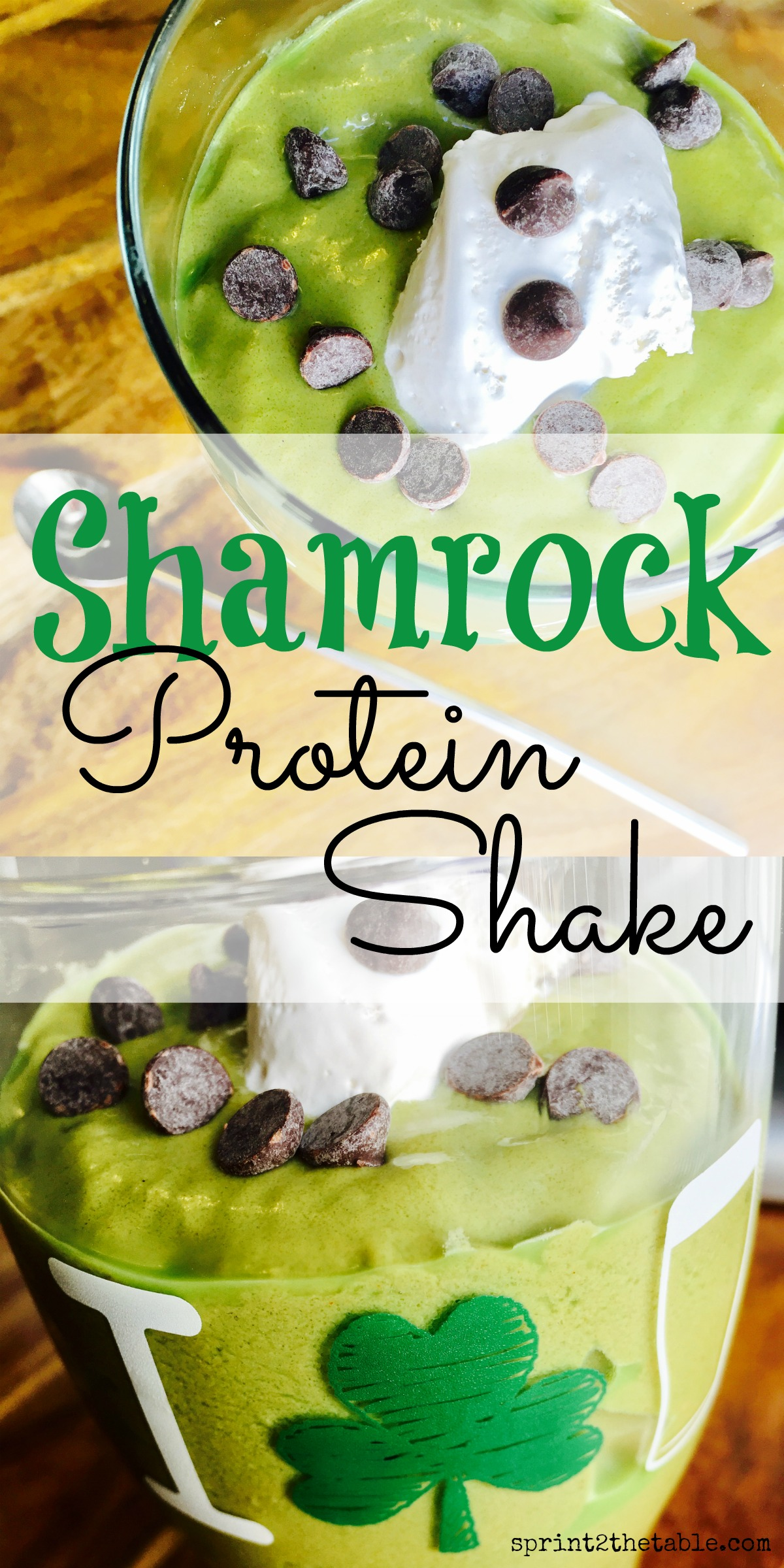Tempted to grab a certain green shake this week? This Shamrock Protein Shake is packed with protein, but without the sugar and calories.