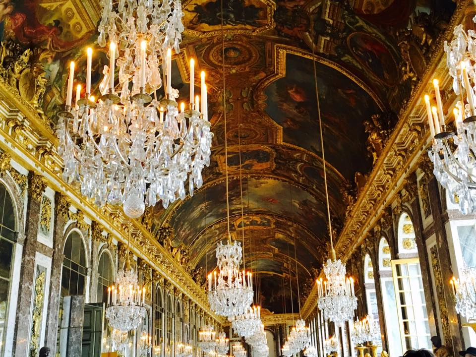 Stunning A whole room of chandeliers