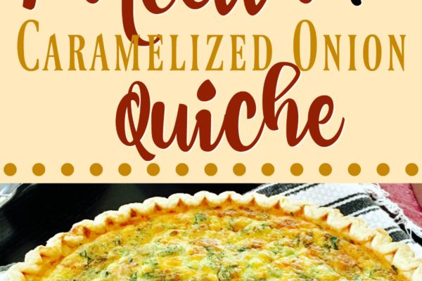 Pancetta and Caramelized Onion Quiche [Recipe]
