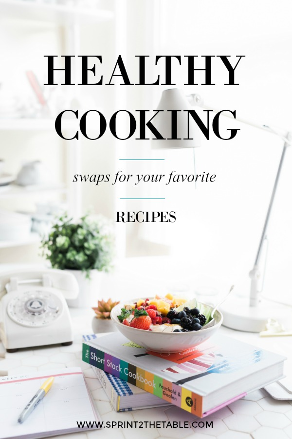 Check out these healthy swaps for your favorite recipes!