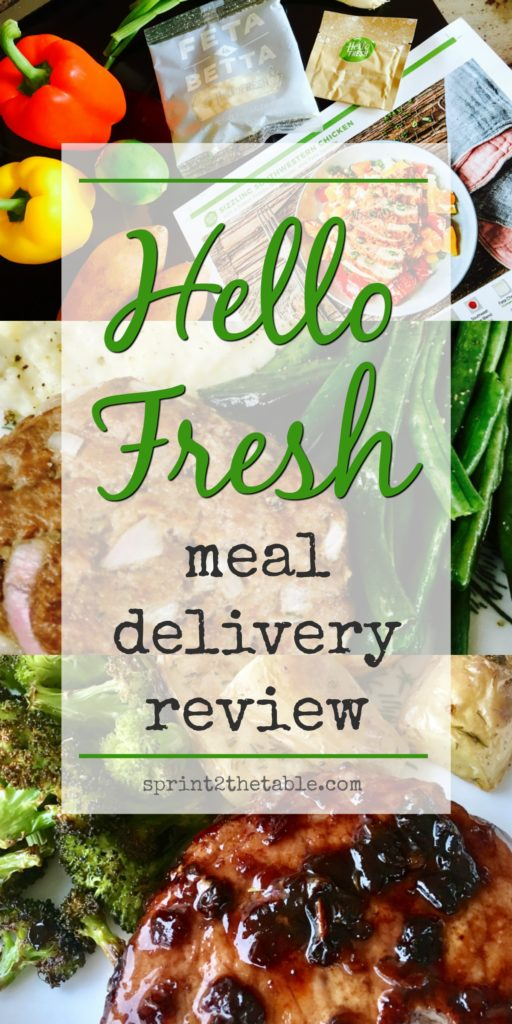 Hello Fresh Review A K A Wiaw Sprint 2 The Table