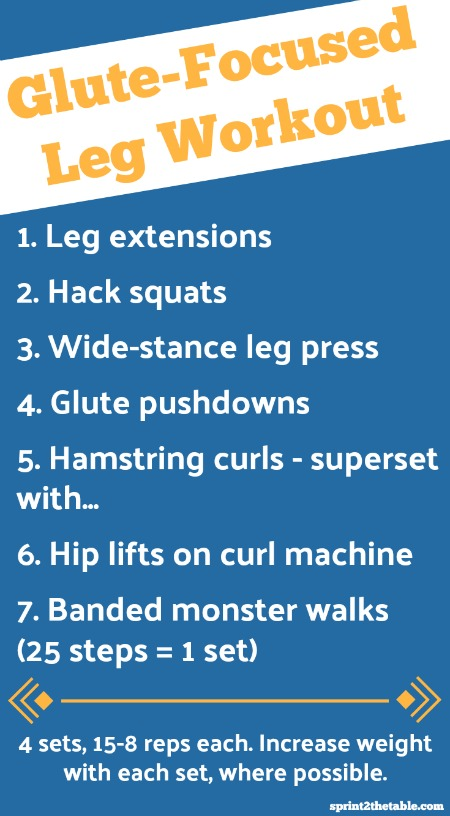 This bum-friendly leg day workout is focused on lifting and strengthening the glutes. Because can you really ever have enough buns, hun?