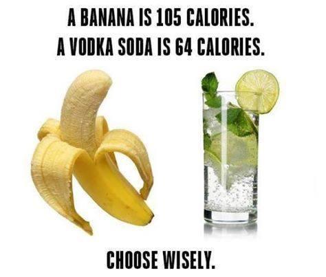 Banana vs. Vodka - who wins?