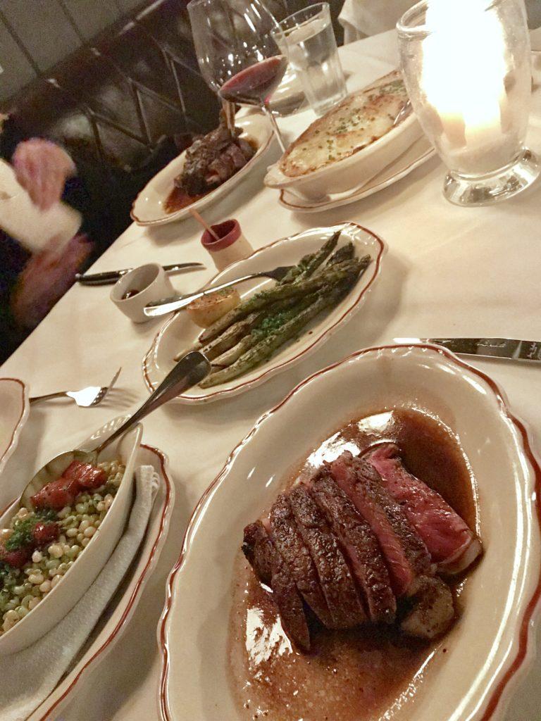 Dinner at Marcel in Atlanta