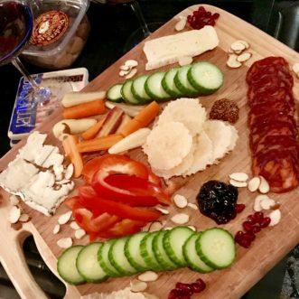 Dinner charcuterie board