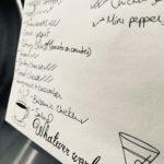 Vegas' fridge food list