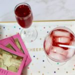 A Pomegranate Aperol Spritz with POM Wonderful 100% Juice is a healthier pre-dinner cocktail.